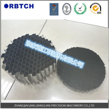 round aluminum honeycomb core used for light